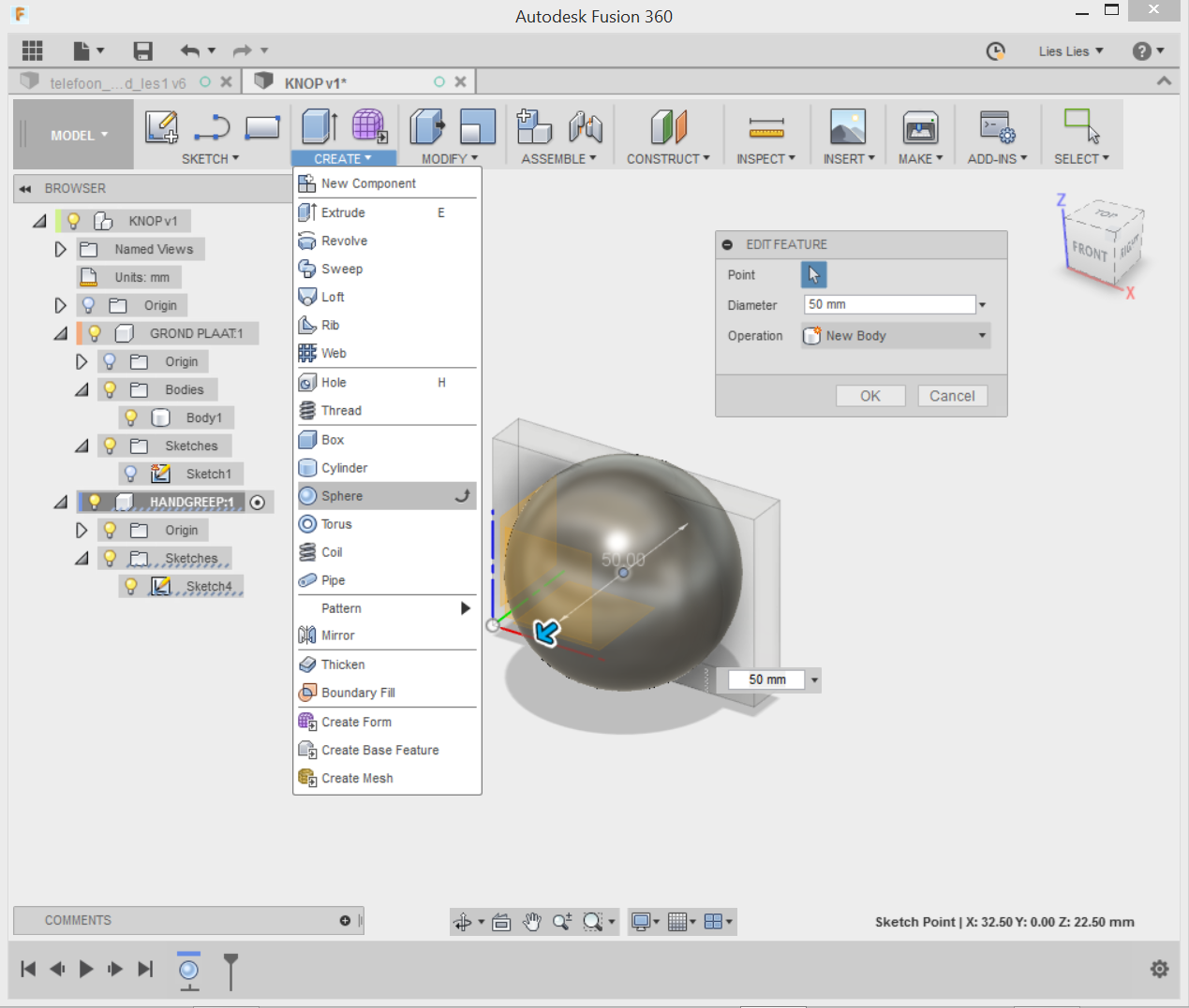 File:Create sphere png - ZB45 wiki